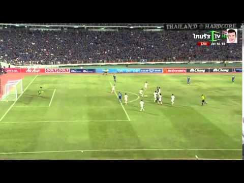 คลิปไฮไลท์ฟุตบอลโลกรอบคัดเลือก ทีมชาติไทย 4-2 ไต้หวัน