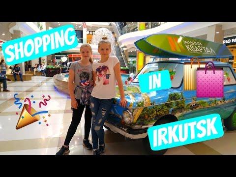 SHOPPING IN IRKUTSK!!!