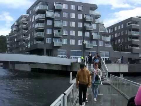 Oslo: waterfront view from the floating bridge