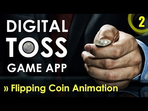 CSS3 Flipping Coin Animation | Digital Coin Toss | JS App Development in  Hindi