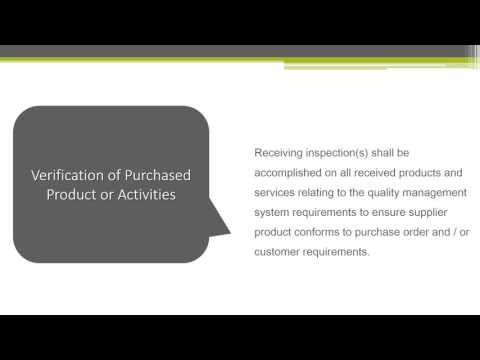 QMSP 5 6 001 Purchasing Training Presentation