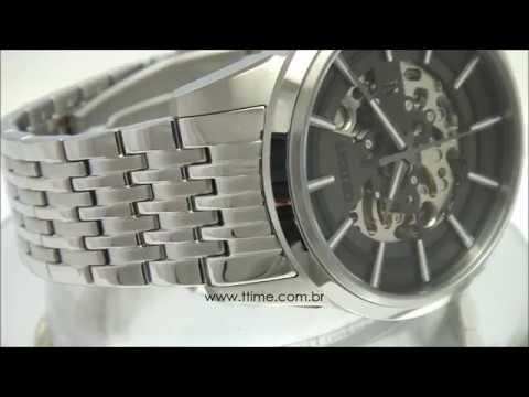 8818e53c94f RELÓGIO ORIENT ESQUELETO AUTOMÁTICO NH7SS001 G1SX - YouTube