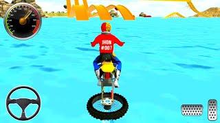 Beach Water Surfer Dirt Bike Xtreme Racing Games - Dirt Bike Games - Android GamePlay
