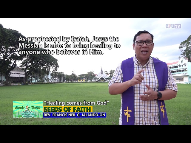SOF Epi 121 Healing comes from God