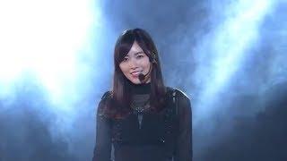 Matsui Jurina and Matsumura Kaori (Kaotan) at Kaotan graduation concert in Feb 2019 松井珠理奈 松村香織 @ SKE48 松村香織 卒業コンサート.