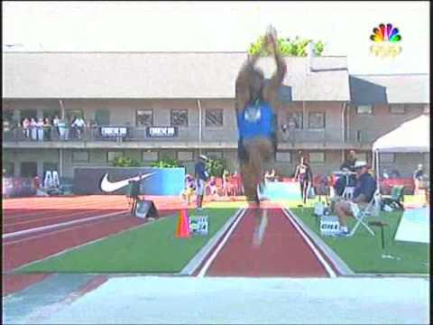 Olympic Trials Mens Triple Jump 2008 USA Track & Field