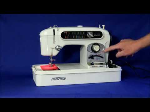 Morse Apollo 40 FotoMatic V Sewing Machine YouTube Extraordinary Morse 6300 Sewing Machine Manual