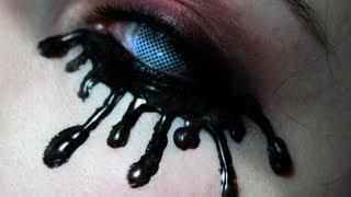 DIY Lashes: Black Tears