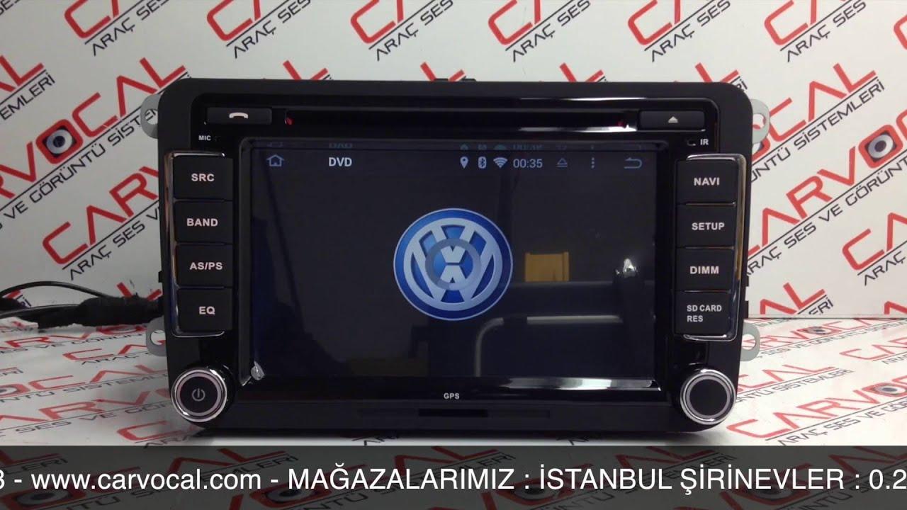 volkswagen android multimedya cihaz tanıtımı - youtube