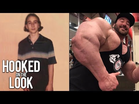 'Toothpick' Student Gains 200lbs Of Pure Muscle | HOOKED ON THE LOOK