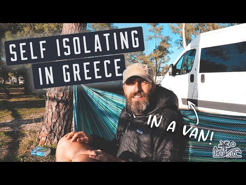 SELF ISOLATING in Greece // Travelling Full Time Vanlife during a Pandemic // Tips on Crossing Italy