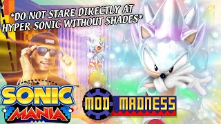 Sonic Mania PC - HYPER SONIC w/Air Boost & Flight - Mod Madness