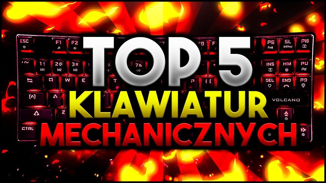 ⌨️ NAJTAŃSZE KLAWIATURY MECHANICZNE! ⌨️   TOP 5