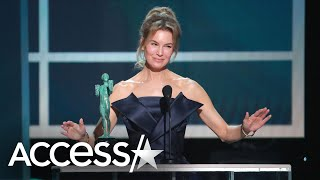 Renée Zellweger Makes History Being First Woman To Win 3 SAG Awards For Films