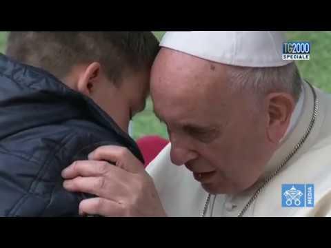 ¿Está en el cielo mi papá si era ateo?: Conmovedora pregunta de un nene al Papa