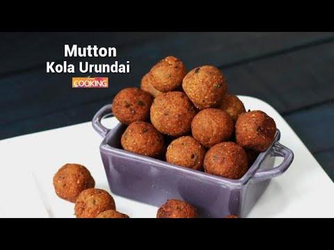 Mutton Kola Urundai   Ventuno Home Cooking