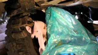 Замена подушки рессоры УАЗ-3303