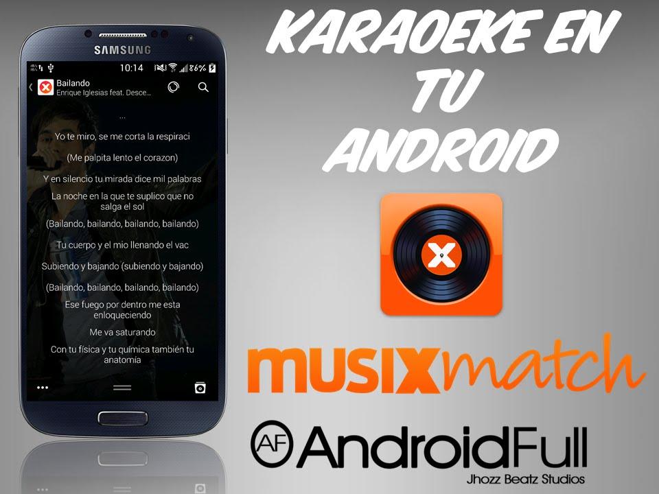 App] Karaoke En Tu Android [MusiXmatch] - YouTube