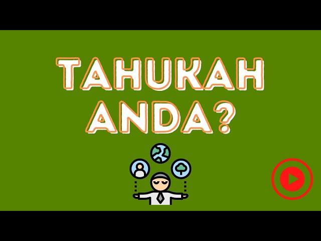 Tahukah anda? | Industri Minyak Sawit Malaysia | Sawit Anugerah Tuhan