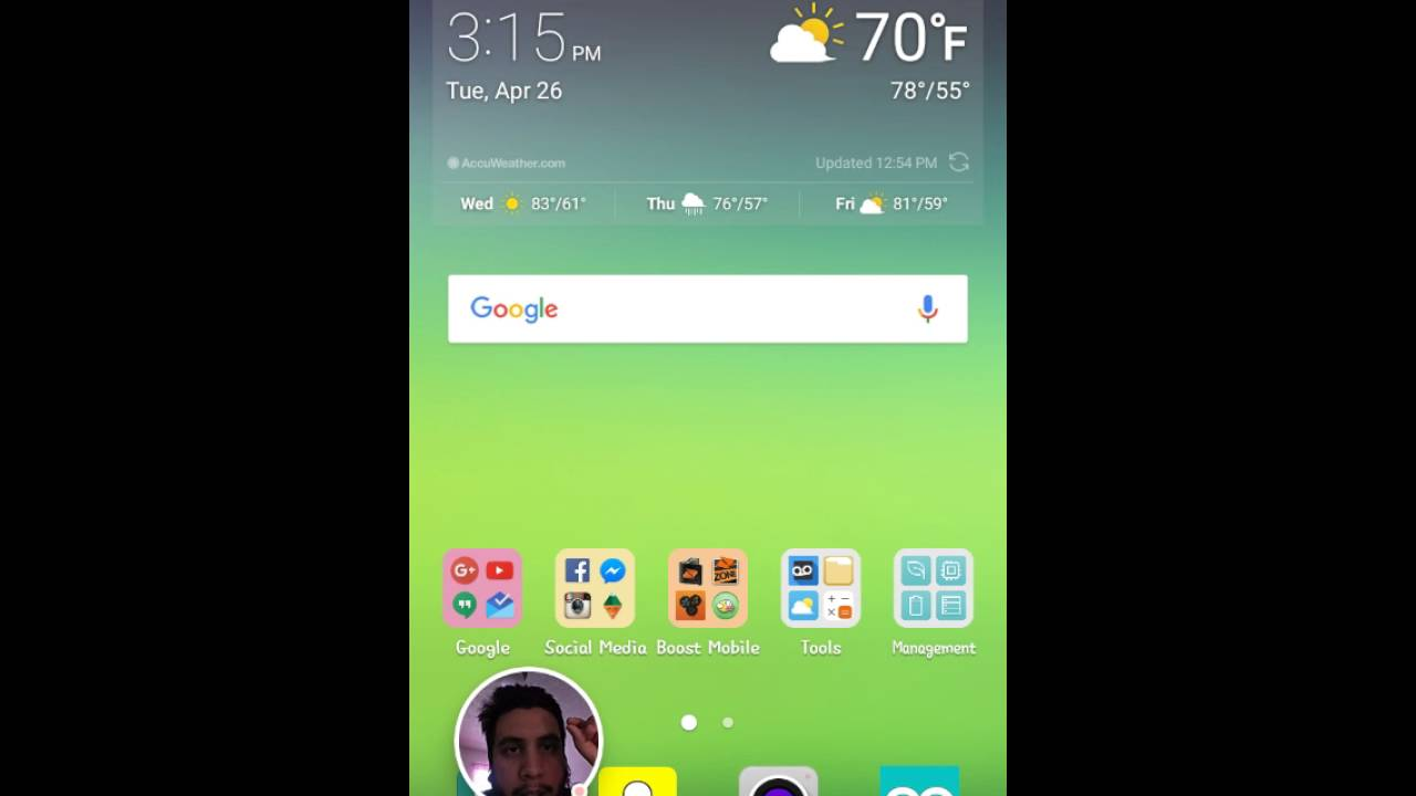 app drawer - LG Stylo 2 | Android Forums