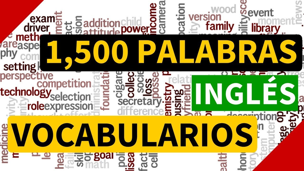 1500 palabras m s usadas en ingl s vocabulario en ingl s for Pronunciacion en ingles