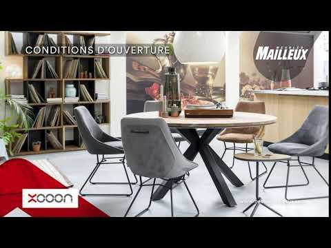 Meubles Mailleux Xooon Salle A Manger Conditions D Ouverture Aux Meubles Mailleux Youtube
