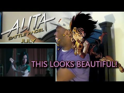 THIS LOOKS BEAUTIFUL!!! Alita: Battle Angel | Official Trailer REACTION!!!