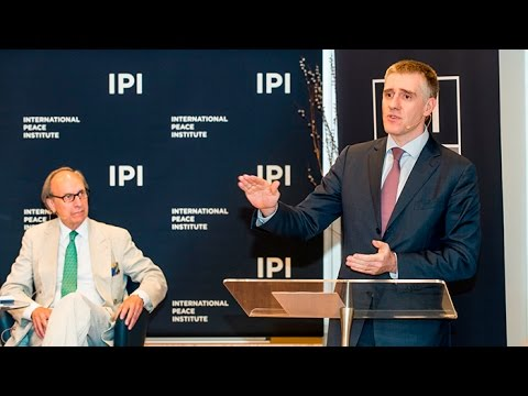 UN Secretary-General Candidate Igor Lukšić Speaks at IPI
