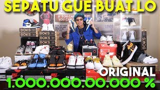 SEPATU2 GW BUAT LO! 1.000.000.000% ORIGINAL