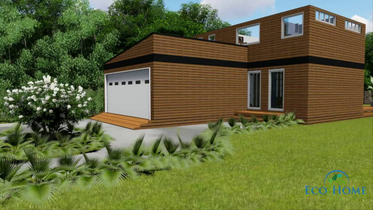 Sch17 10 X 20ft 2 Story Container Home Video Youtube