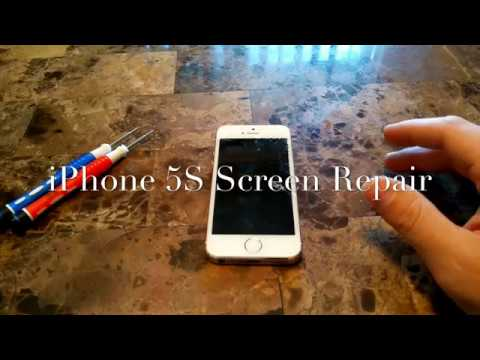 iphone 5s screen replacement instructions