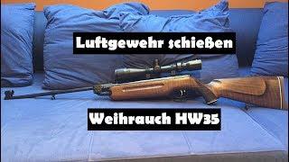Weihrauch hw s luftgewehr kal mm diabolo inkl