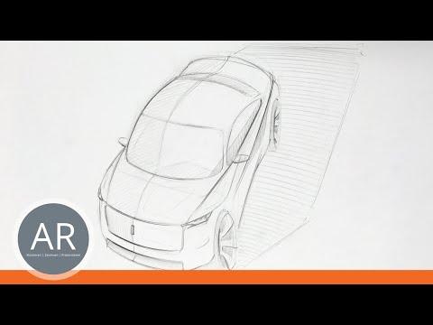 Autos ganz einfach zeichnen lernen. Transportationdesign, Cardesign
