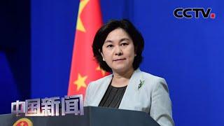 [中国新闻] 中国外交部:挑拨中非友好关系在非洲没有市场 | CCTV中文国际
