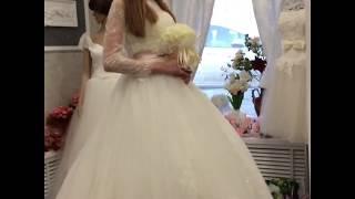 Свадебное платье LB 13098 + Болеро LB 14649