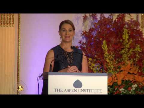 2016 Aspen Institute Annual Awards Dinner: Melinda Gates Award Presentation and Conversation