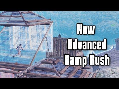 New Advanced Ramp Rush To Push High Ground - Fortnite Tips and Tricks