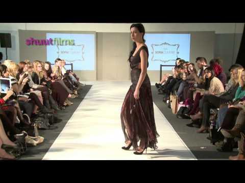 Sofia Couture Autumn Winter 2013 Pret a Porter Women Birmingham International Fashion Week