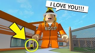 BIGGEST JAILBREAK HACKER IS A FAN! *ASKS FOR FREE ROBUX* (Roblox)