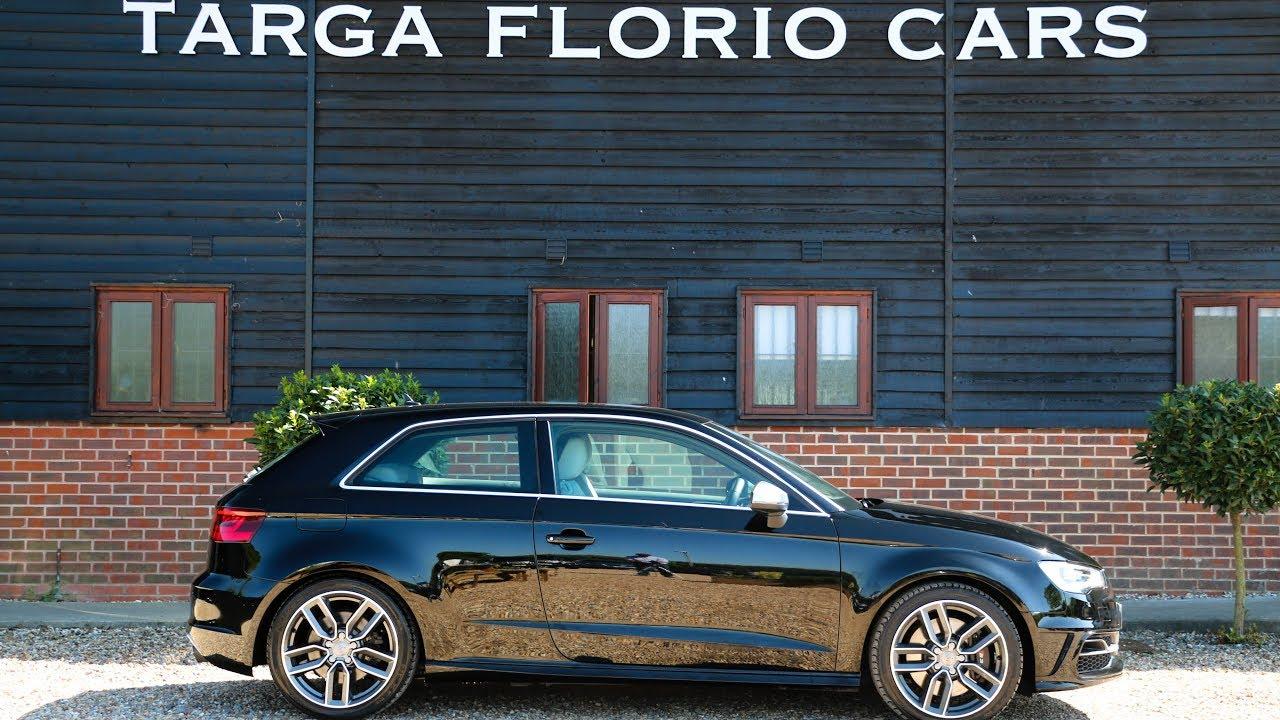 Audi S3 3 Door Hatchback 2 0 Tfsi Quattro 300ps S Tronic Automatic In Brilliant Black