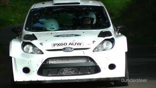 Petter Solberg - WRC Tests Germany 2012 [HD]