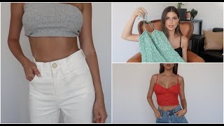 VERGE GIRL CLOTHING HAUL || ASHTON WOOD