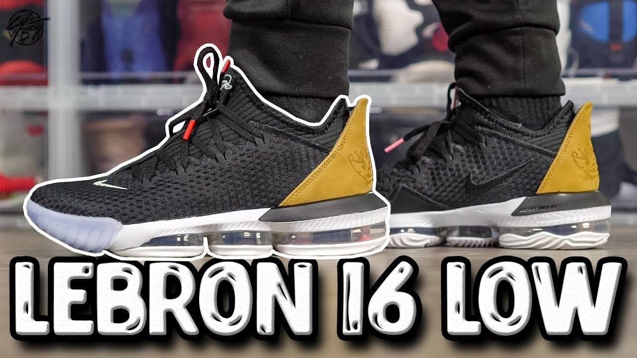 Nike Lebron 16 LOW First Impressions