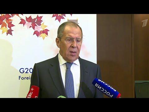 Глава МИД РФ рассказал о препятствиях в развитии российско-японских отношений.