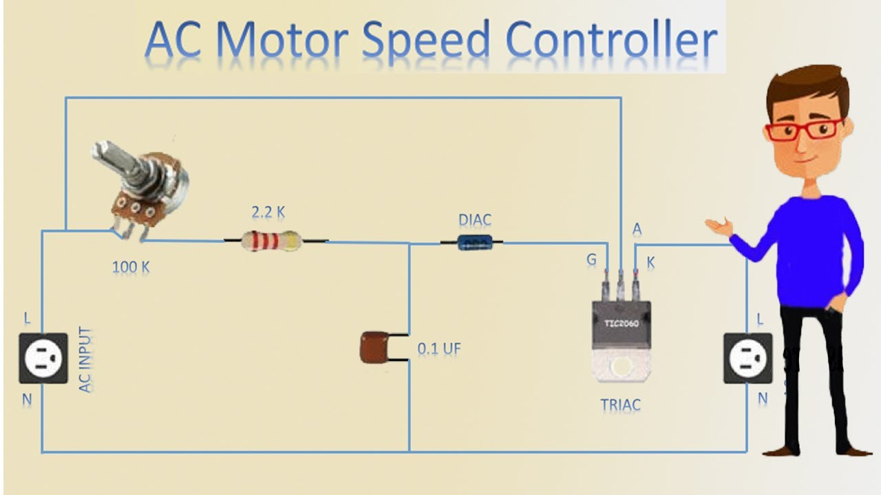[FPWZ_2684]  AC Motor Speed Controller | Motor Speed Control | Motor - YouTube | Ac Motor Speed Controller Wiring Diagram |  | YouTube