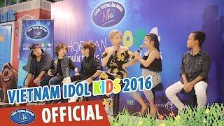 vietnam idol kids 2016 - top 5 giao luu voi fan ham mo