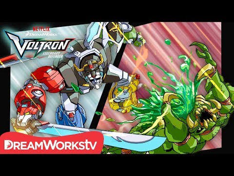 [MOTION COMIC] Shakedown at the Fripping Bulgogian - Part 2 | DREAMWORKS VOLTRON LEGENDARY DEFENDER