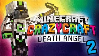 "Minecraft Crazy Craft 3.0 (Ep 2) - ""DEATH ANGEL!"" w/ Nade"