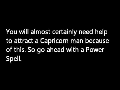 how to get close to a capricorn man