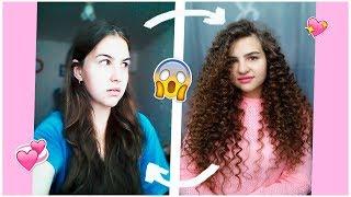 видео Как сделать локоны без плойки и утюжка